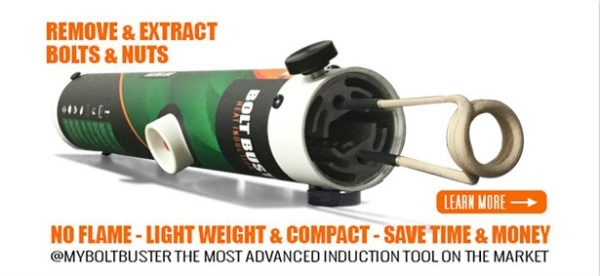 New & Improved Bolt Buster Heat Induction Tool | BOLT BUSTER